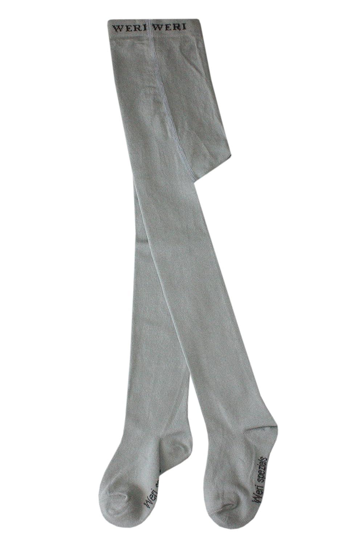 Leotardos lisos para beb/és y ni/ños Weri Spezials color gris