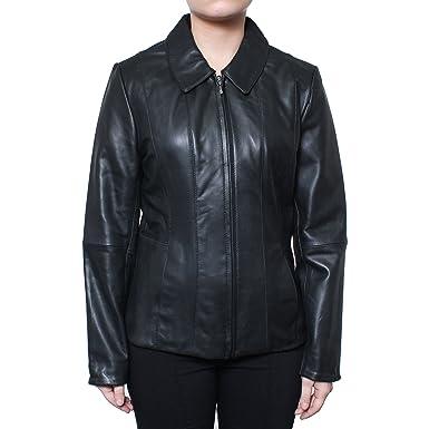 f590690d7 Donny Brook Leather Jacket-Black-S at Amazon Women's Coats Shop