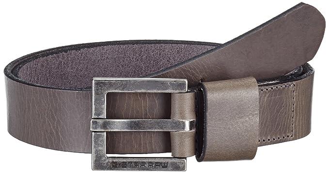 0f891765c69 G-STAR Duko belt - Ceinture - uni - Homme - Gris (Raw Grey 1260 ...