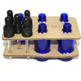Bee Beautiful 30ml Blue Glass Bottle with Clear Glass Pipettes (5 x 30ml bottles)