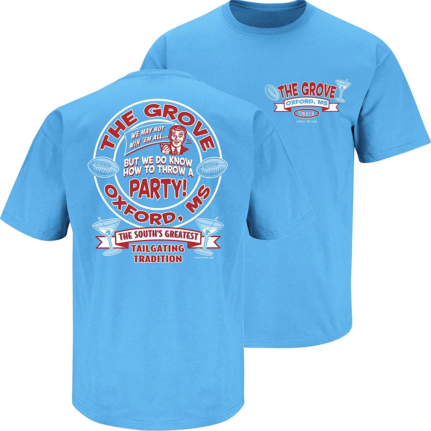 outlet store b4c3e b678b Smack Apparel Ole Miss Football Fans. The Grove T- Shirt (S-5XL)