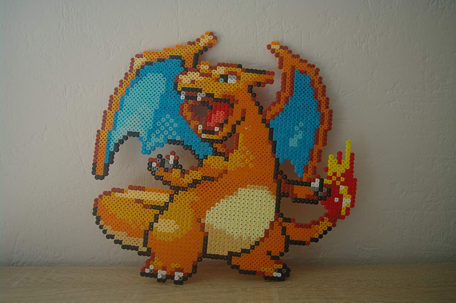 Sprite Of Charizard From Pokemon In Pixel Art Amazoncouk