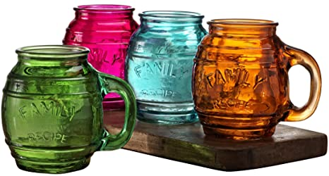 Other Bohemian/czech Art Glass 100% Quality Vintage Decanter W/ Handle Wine Set Yellow 3 Glasses Sale Price
