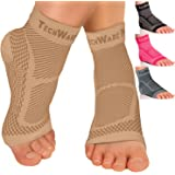 Amazon Price History for:Tech Ware Pro Ankle Brace Compression Sleeve - Relieves Achilles Tendonitis, Joint Pain. Plantar Fasciitis Foot Sock with Arch Support Reduces Swelling & Heel Spur Pain. Injury Recovery for Sports