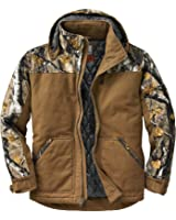 Legendary Whitetails Men's Canvas Cross Trail Big Game Camo Workwear Jacket