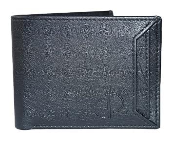 Prajo Men Black Leather Wallet
