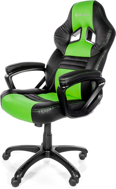 Arozzi Gaming Stuhl MONZA schwarzgrün