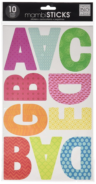 Amazon.com: me & my BIG ideas mambiSTICKS Themed Stickers, Upper ...