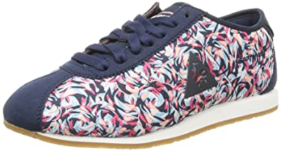 Jacquard Sportif Flower Wendon Le W Basses Coq Sneakers Bleu Femme XvFqpxP