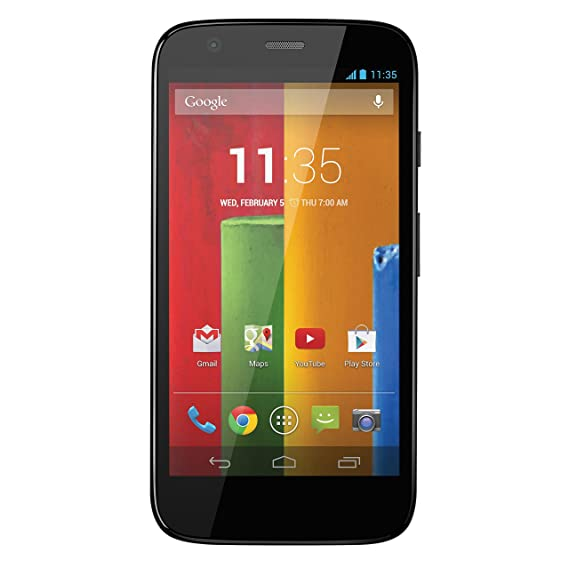 bb0fb21e28 Amazon.com  Motorola Moto G (1st Generation) - Black - 8 GB - Global ...