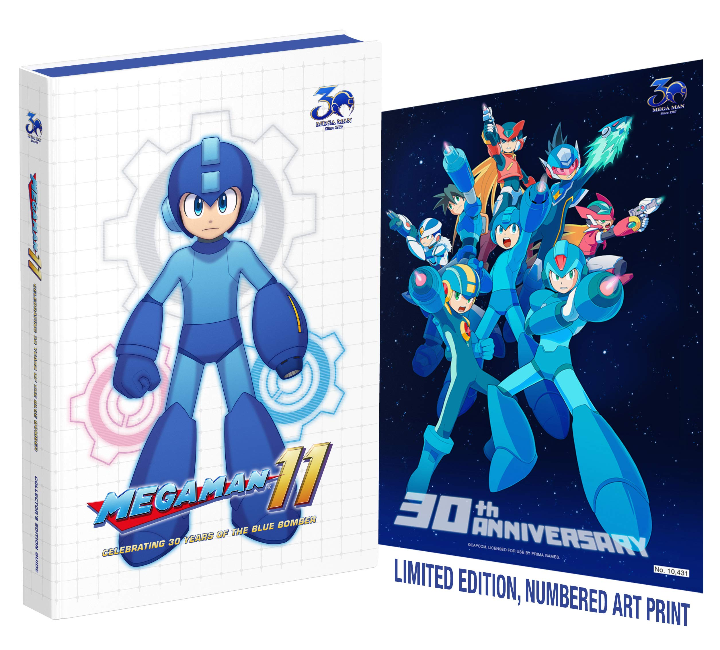 Mega Man 11  Celebrating 30 Years of the Blue Bomber  Sebastian ... 4cf0d4314