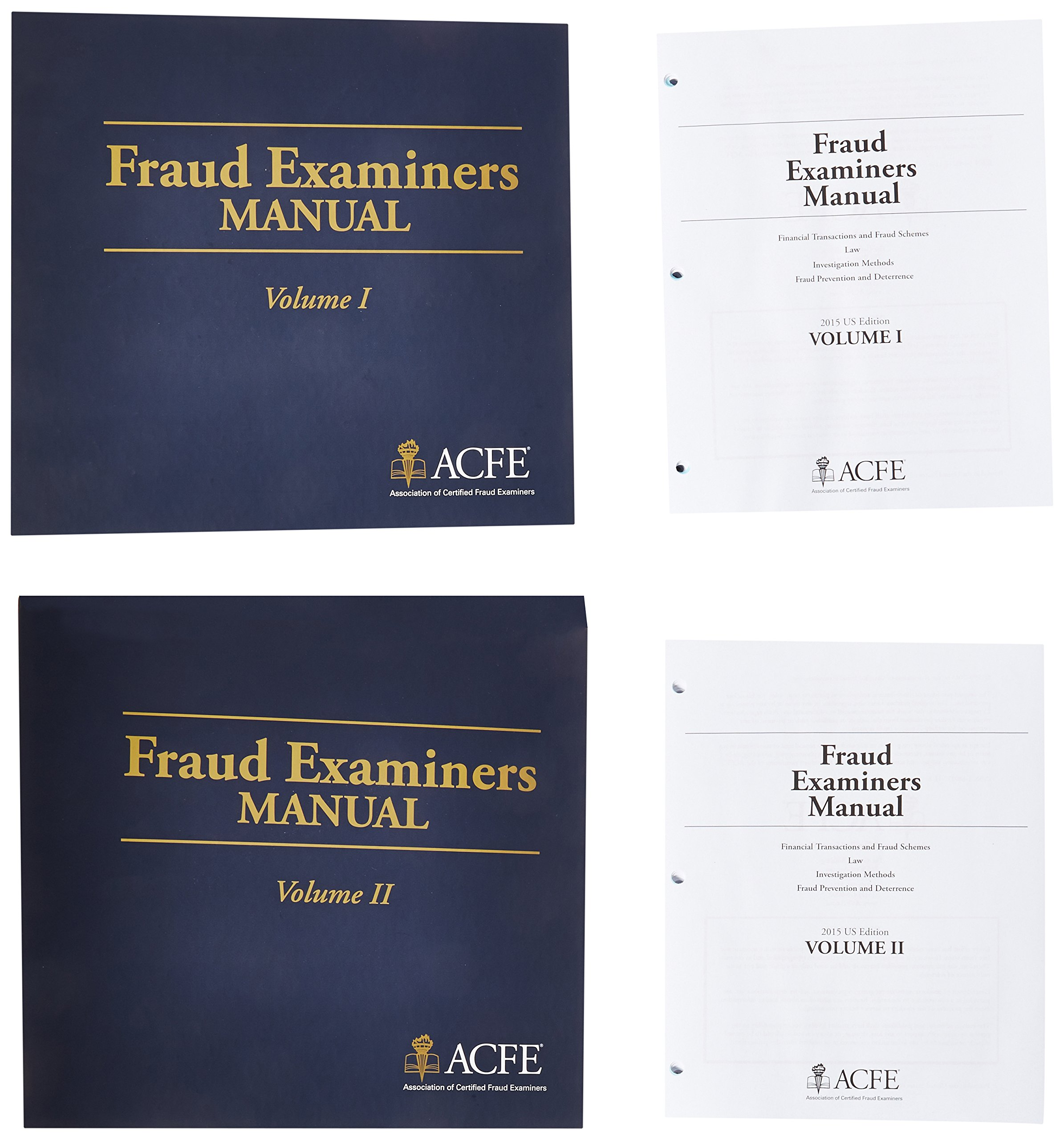 Fraud Examiners Manual, 3rd Edition (3 Volume Set): 9781889277110:  Textbooks: Amazon Canada