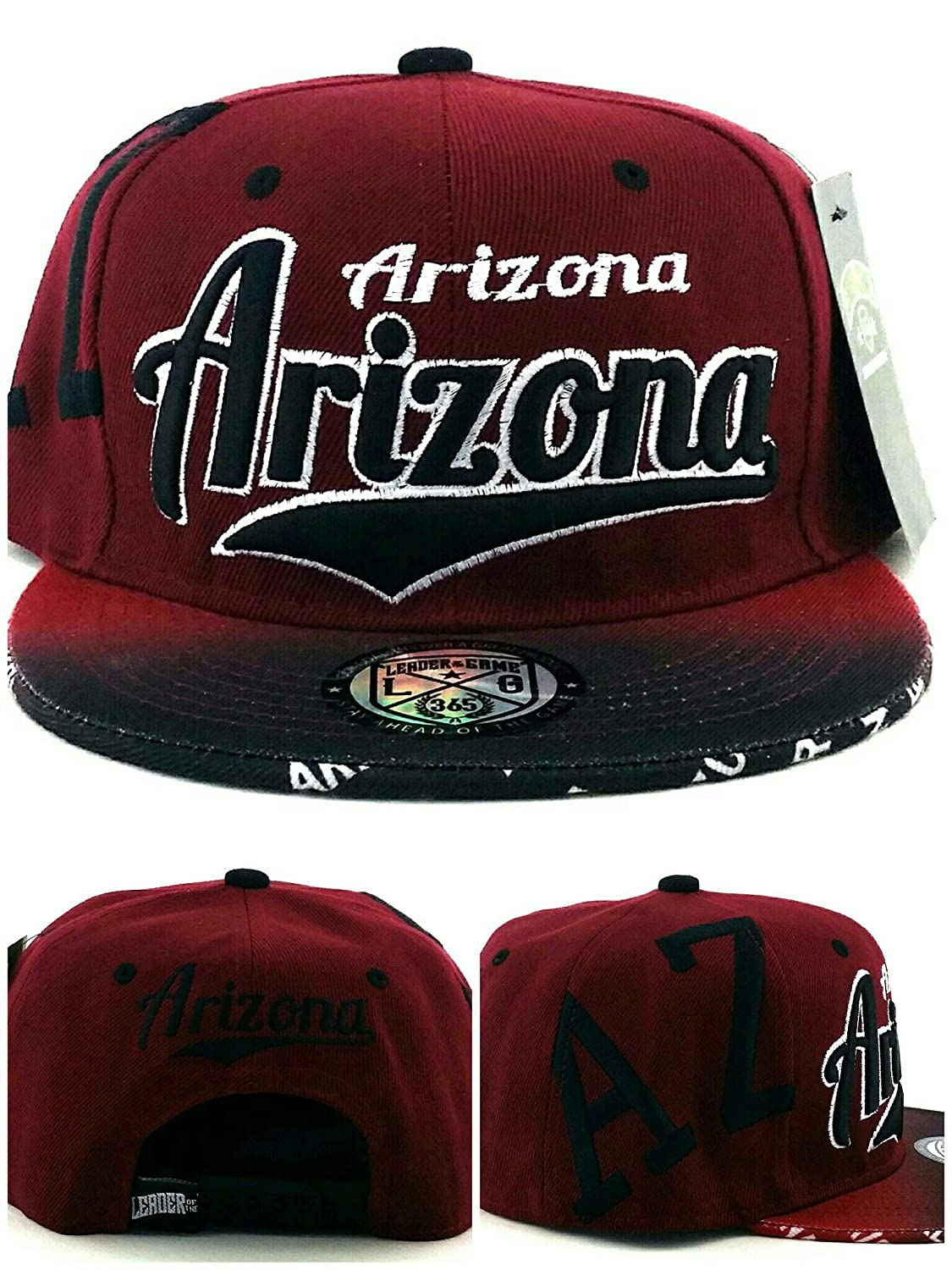 Leader of the Game Arizona AZ® - Gorra con capucha de colores rojo ...