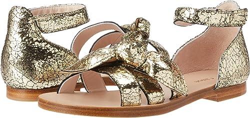 309198c5d250 Chloe Kids Baby Girl's Mini Me Leather Sandals (Toddler/Little Kids) Dore 25