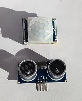 Detector de movimiento por infrarrojos 1 x HC – SR501 y 1 x Doble y sensor