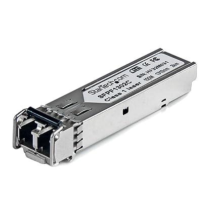StarTech com Cisco GLC-FE-100FX Compatible SFP Module - 100BASE-FX Fiber  Optical Transceiver (SFPF1302C)