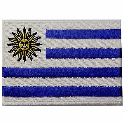 Bandera de Uruguay Uruguayo Emblema nacional Parche Bordado de Aplicación con Plancha