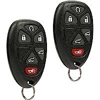 Car Key Fob Keyless Entry Remote fits 2007-2014 Chevy Tahoe Suburban / 2007-2014 Cadillac Escalade / 2007-2014 GMC Yukon…