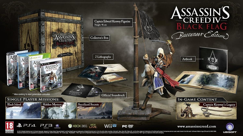 Assassins Creed IV Black Flag Exclusive Buccaneer - Collectors ...