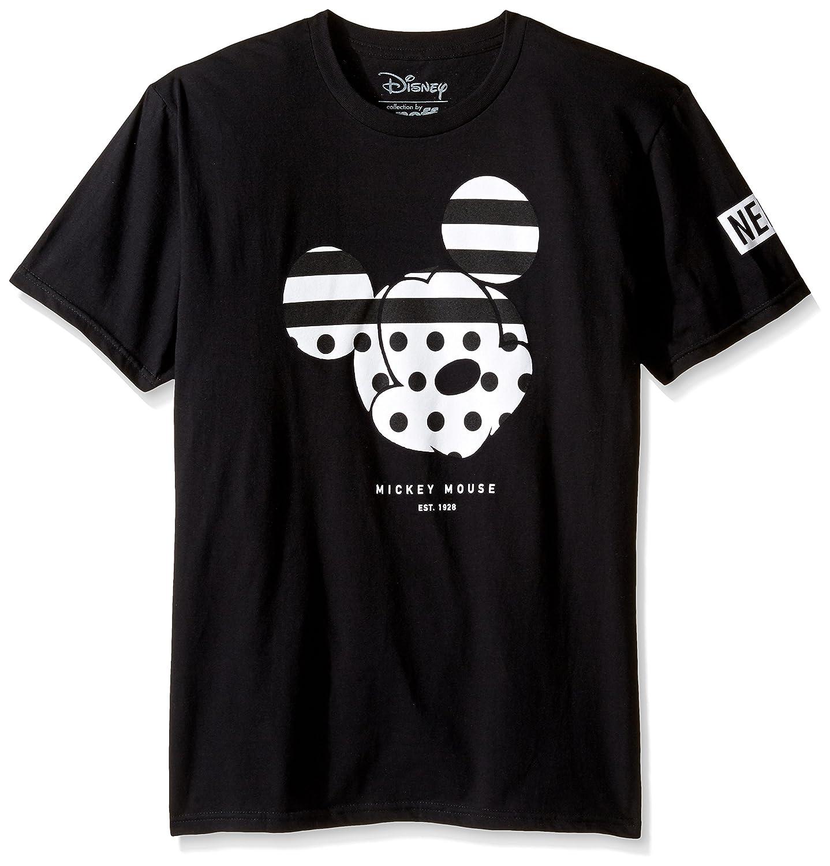 Disney Mens Standard X Neff Mickey Mouse Mens Short Sleeve T- Shirt Black Small Neff Young Men' s R16FS29SM