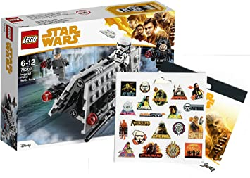 Star Wars Lego Imperial Patrol Battle Pack 75207 juguete + Han ...