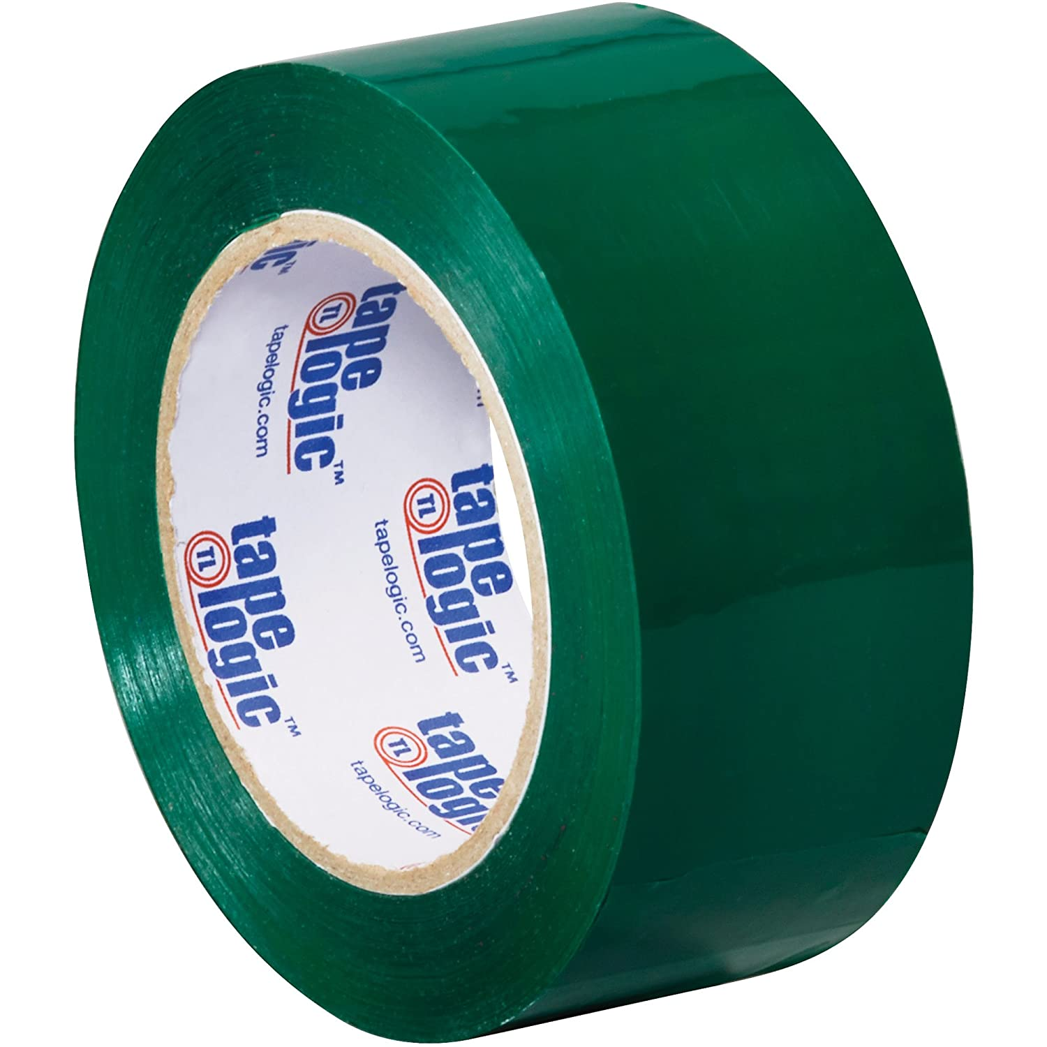 18//Case Green Tape Logic Carton Sealing Tape 2 x 110 yds 2.2 Mil