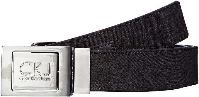 Calvin Klein Jeans - Ceinture - Uni - Homme - Noir - 90 Cm  Amazon ... be2626ecd89