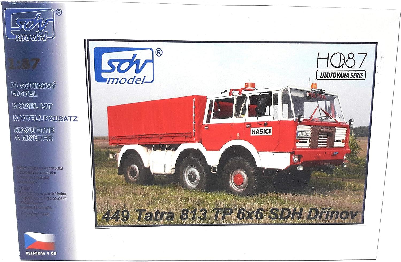 SDV Kunststoff Modellbausatz 1:87 H0 Tatra T 813 8x8 Kolos Schwerlastzugmaschine