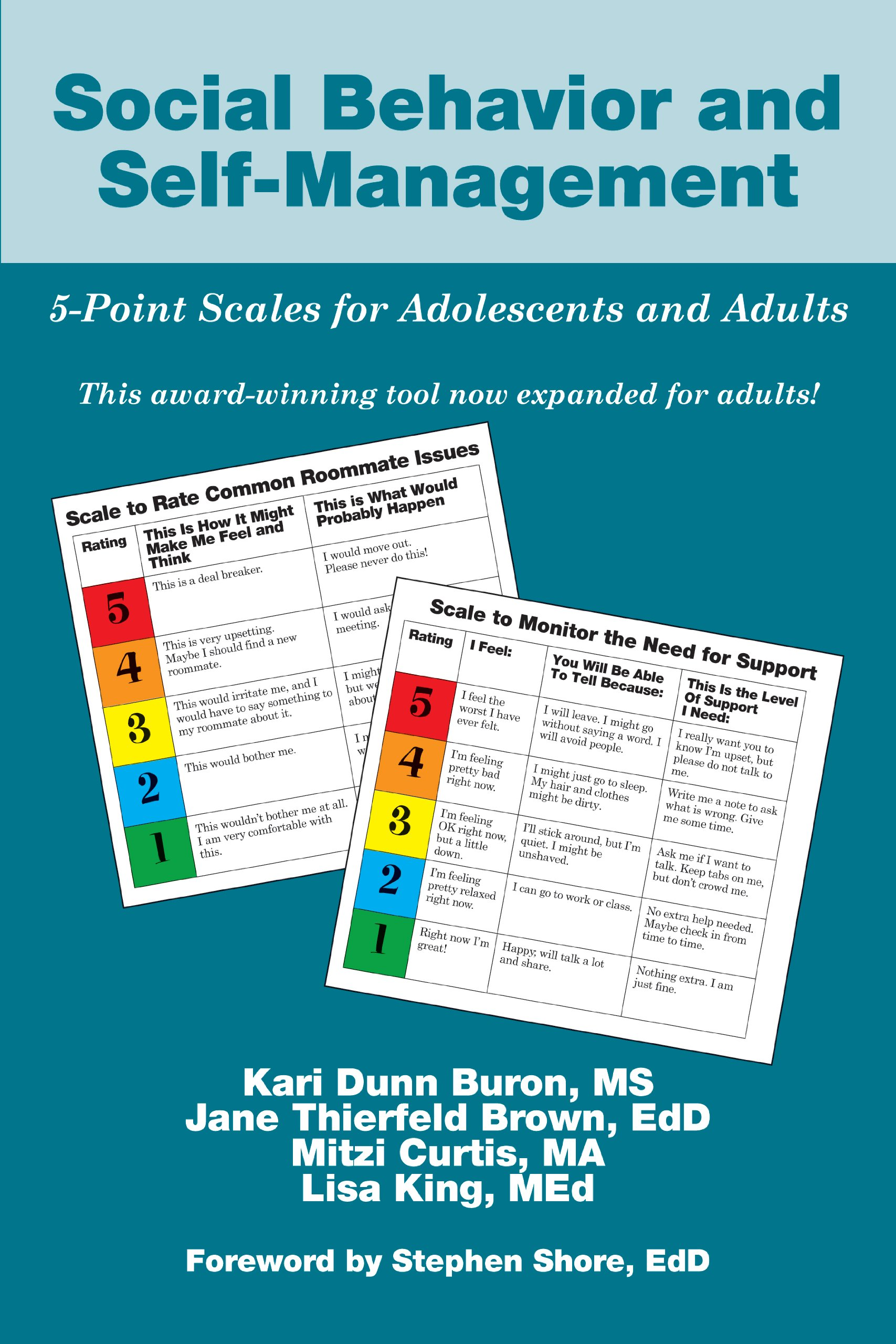 Social Behavior Self Management 5 Point Adolescents product image