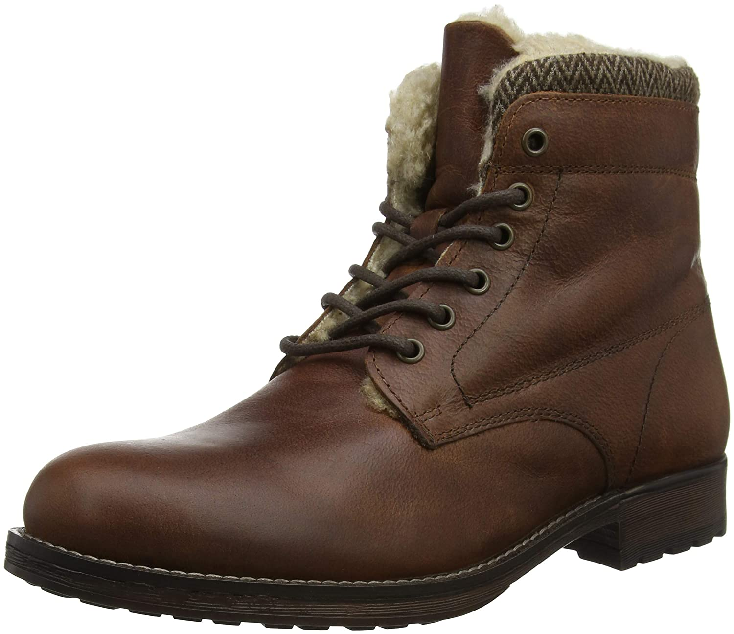 Red Tape Frampton Botas hombre, Marrón (Wood 000), 42 EU (8 UK)