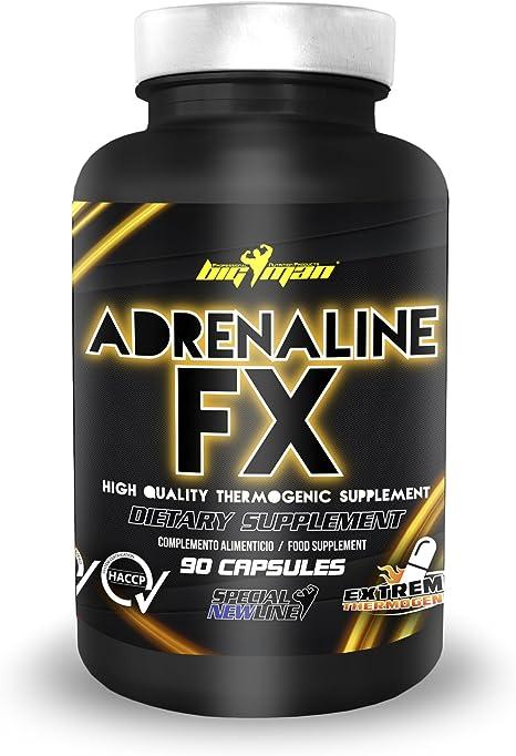 Big Man Nutrition Adrenaline FX Quemagrasas - 90 Cápsulas
