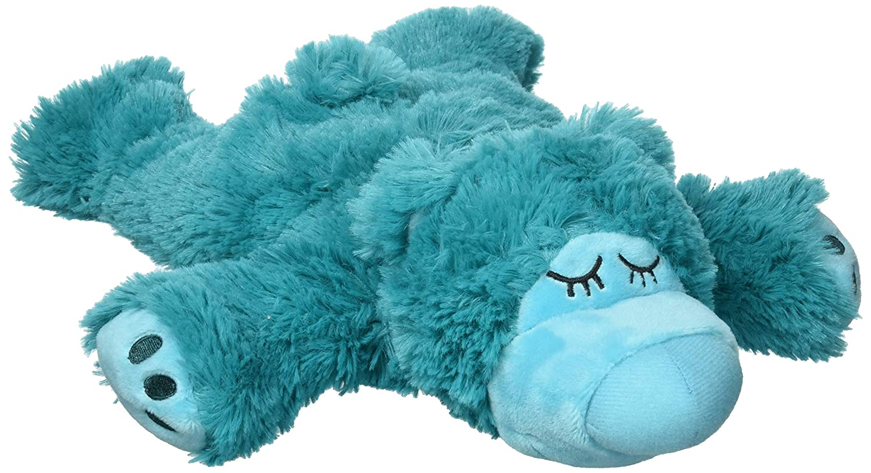 Warmies Sleepy Bear türkis: Stofftier mit Lavendel-Füllung