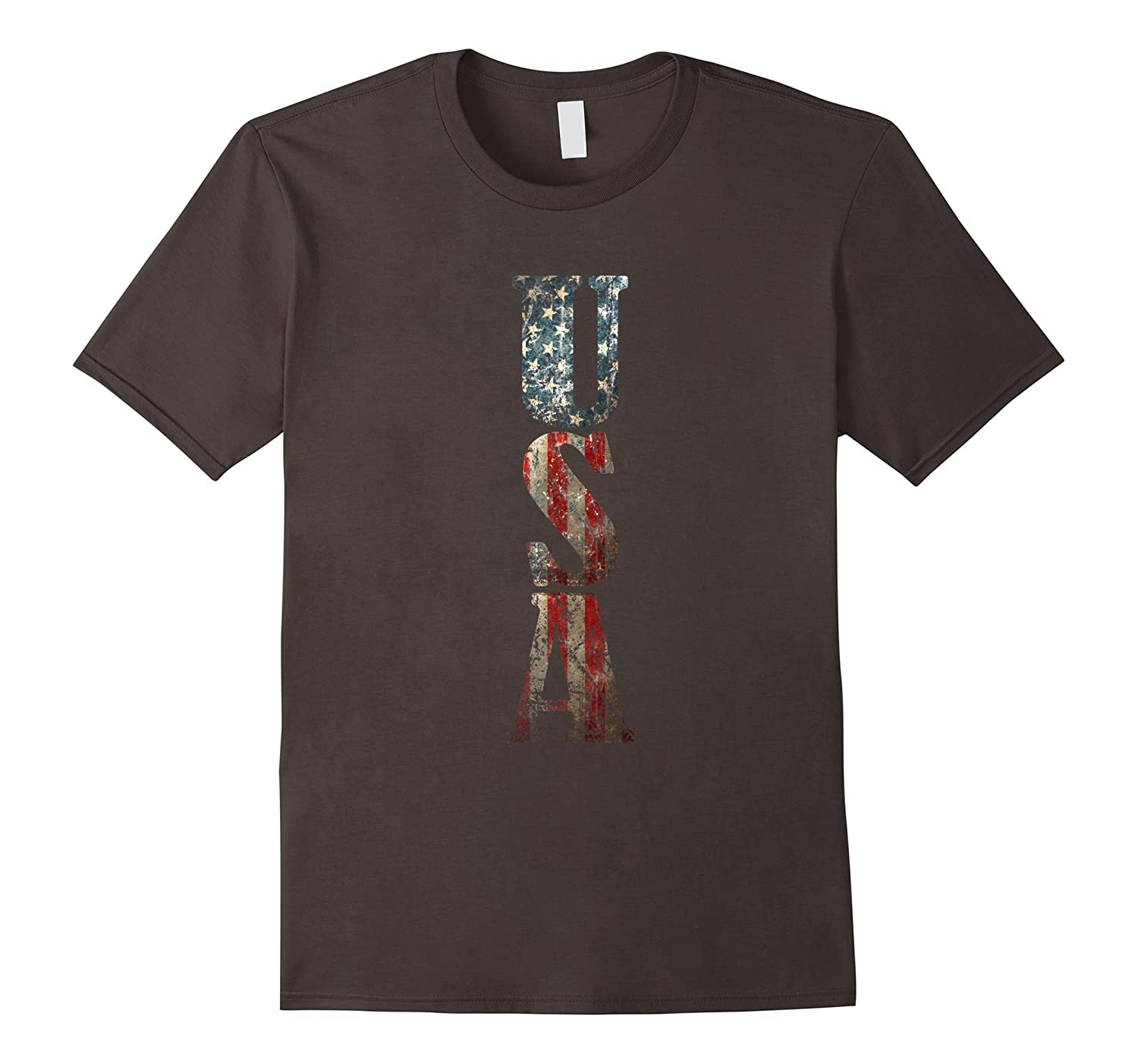 Vintage Usa T Shirt Distressed Usa Tee For 4th Of July