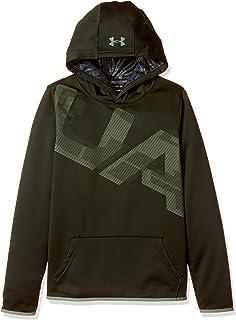 c2fd4a035b75 Amazon.com  Under Armour Boys  Armour Fleece Hoodie  Clothing