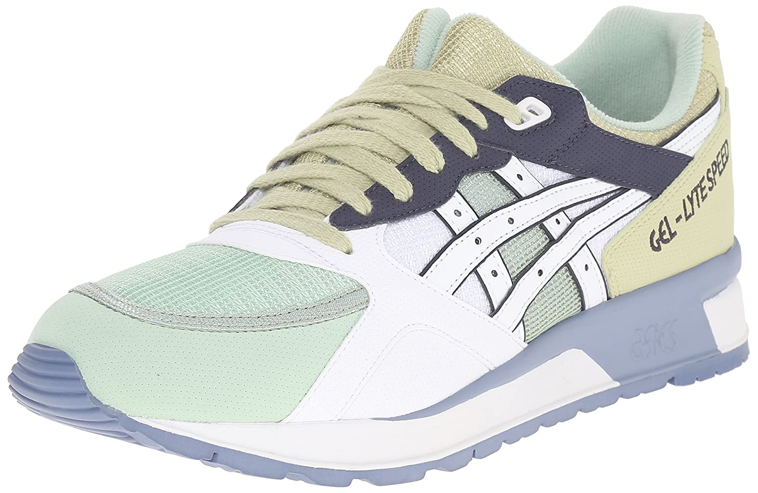 ASICS GEL Lyte Speed Retro Running Shoe B00ZQ9FEEM 10 M US|White/White