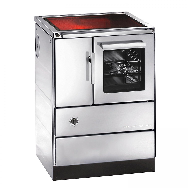 Haas + sohn cocina de HSD 60A 5-C de acero inoxidable, con ...