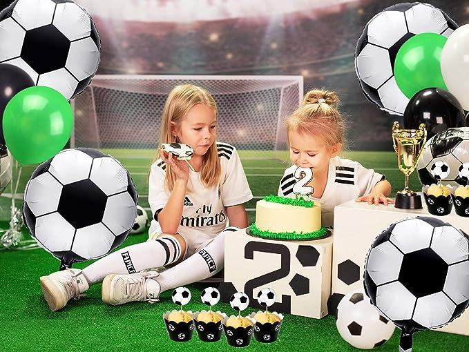 Decoraciones de cumpleaños de fútbol, globos de fútbol ...