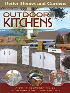 outdoor kitchens a do it yourself guide to design and construction better - Homes And Gardens Kitchens