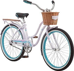 Schwinn Destiny Womens Beach Cruiser Bike, Single Speed, 24-inch Wheels