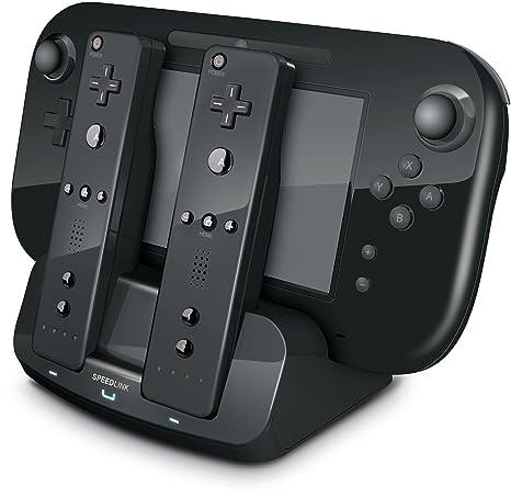 Amazon.com: Speedlink tridock 3-in-1 Cargador para Nintendo ...