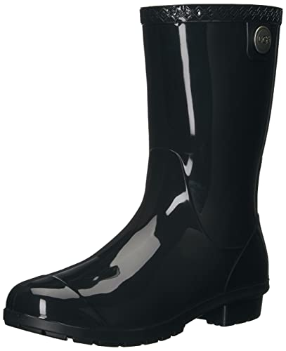 UGG Women's Sienna Rain Boot, Black, ...