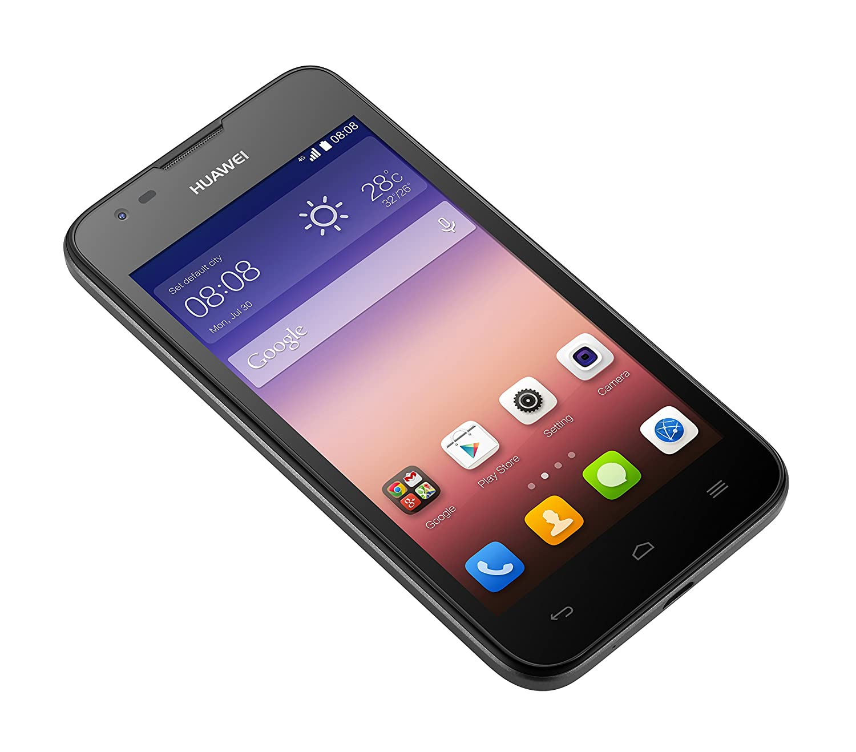 Huawei Ascend Y550 Smartphone 45 Zoll Schwarz Elektronik Y520 4gb