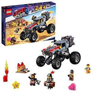LEGO THE LEGO MOVIE 2 Escape Buggy 70829 Building Kit, Build and Play Toy Car with Action Heroes (549 Pieces)
