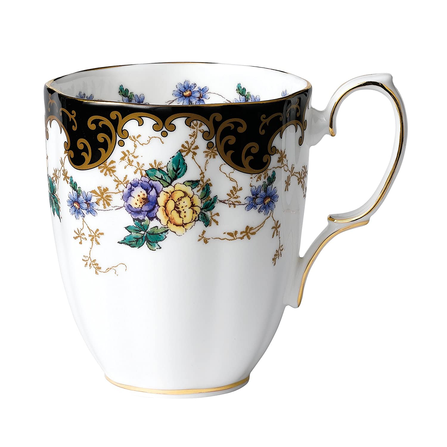 bfb4b75f081 Buy Royal Doulton-Royal Albert 100 Years 1910-Duchess Mug Online at Low  Prices in India - Amazon.in