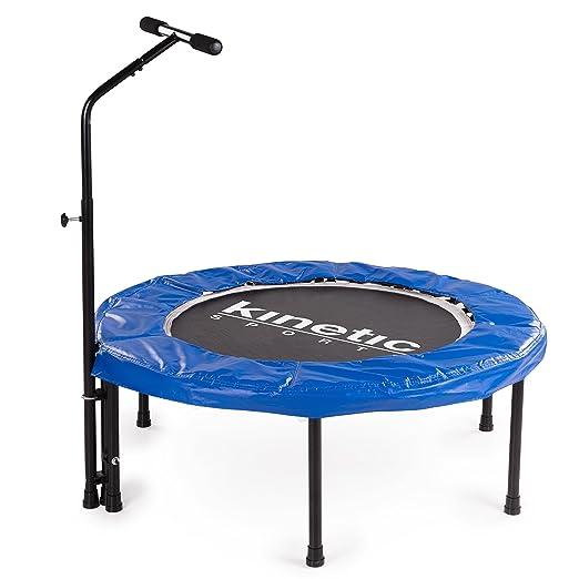 4 opinioni per Kinetic Sports Trampolino Elastico per Fitness, Diametro 100 cm, Maniglia