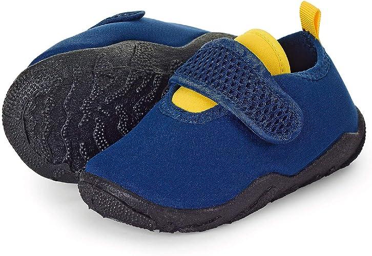 Sterntaler Aqua-Schuh, Zapatillas Impermeables para Niños, Azul (Marine 300), 27/28 EU
