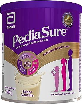 PediaSure Complemento Alimenticio para Niños, Sabor Vainilla, con Proteínas, Vitaminas y Minerales - 400 gr