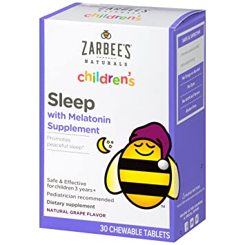 Amazon.com: Zarbees Naturals Childrens Sleep Chewable ...