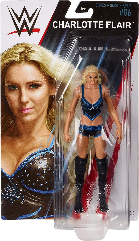 WWE combat 35 Charlotte Flair Figurine Mattel 2018 Neuf enfants cadeau