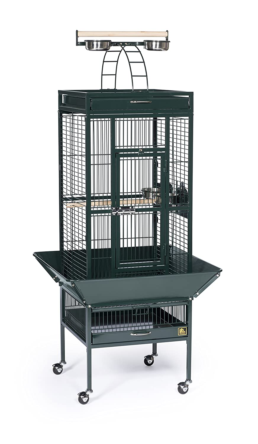 Small Wrought Iron Select Bird Cage Prevue Pet Products Inc. 3151GRN